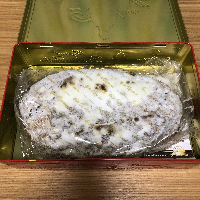 シュト―レン クリスマスのパン